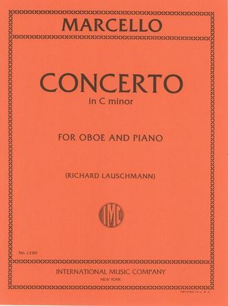 Marcello, B: Oboe Concerto C Minor