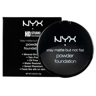 Пудра матирующая NYX Stay Matte But Not Flat Powder 02 Nude