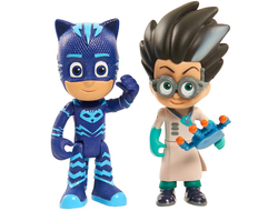 Кэт Бой и Ромэо /  Disney Junior PJ Masks Catboy & Romeo Action Figure 2-Pack