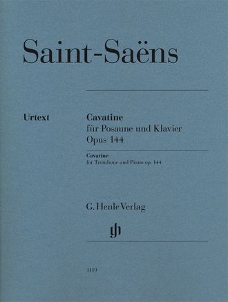 Saint-Saens: Cavatine for Trombone and Piano op. 144