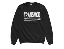 Свитшот TRANSMOD 80 Logo Full Black