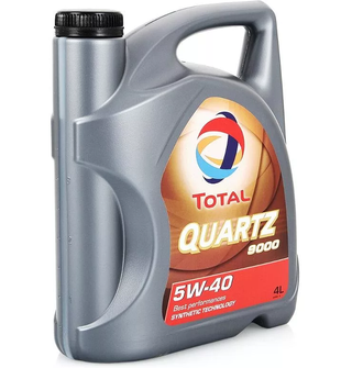 Масло TOTAL Quartz 9000 SAE5W40 мот.синт. 4л, кат.№ 74154