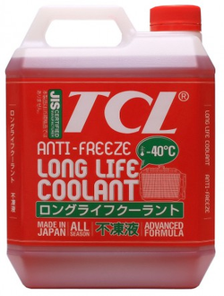 Антифриз TCL LLC RED (Long Life Coolant) - 40 (4 л)