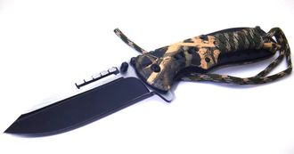 Realtree steel knife