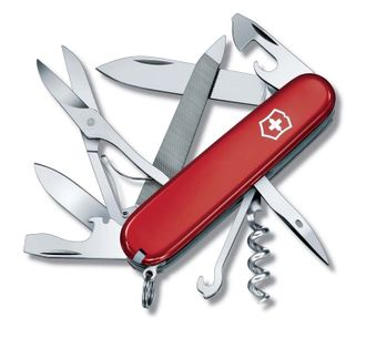 Нож перочинный VICTORINOX Mountaineer, 91 мм, 18 функций, красный