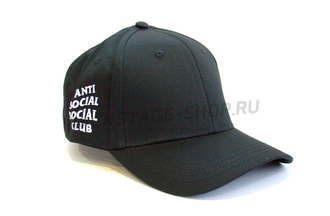 Бейсболка Anti Social Social Club Red