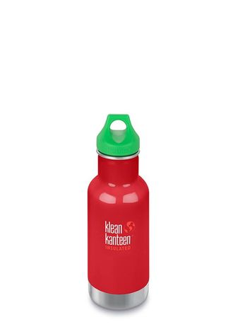 Детская термобутылка Klean Kanteen Kid Classic Loop 12oz (355 мл) Mineral Red