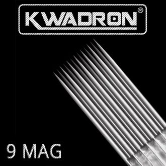 "9 MGLT/0,35 mm - Magnum/M1 long taper ""Иглы - Kwadron"""