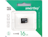 Карта памяти Micro SD 16Gb Smart Buy Class 10