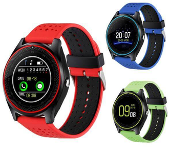умные часы smart watch v9 colors