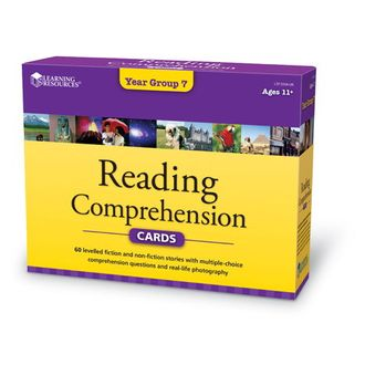 Reading Comprehension Cards Year Group 7