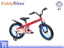 Велосипед HOGGER 16 Red Kiddy-bikes от 3 до 6 лет