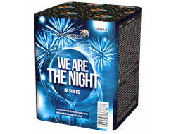 Батарея салютов WE ARE THE NIGHT GP497/2 MAXSEM | Neva-Salut.com