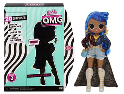 Кукла MGA Entertainment Кукла L.O.L. Surprise OMG Series 2 - Miss Independent Fashion Doll с 20 сюрпризами, 565130