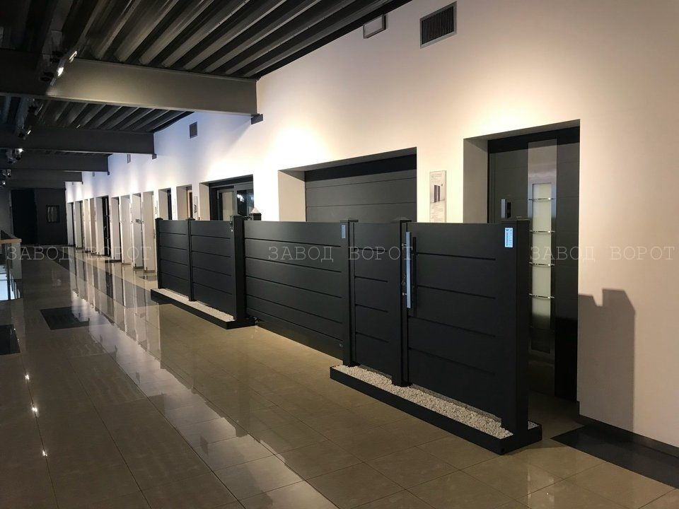 энергоэффективные ворота на гараж - заказать красивые въездные системы - днепр