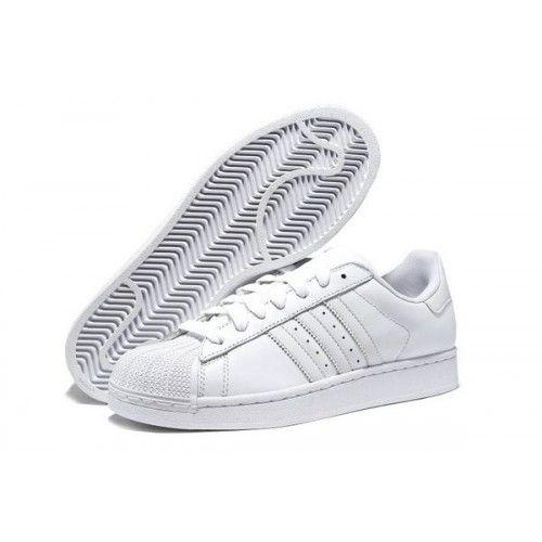 373c345ea Купить кроссовки Adidas Superstar Белые по низкой стоимости в Перми ...