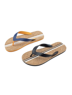 Сланцы Xiaomi U'REVO cork bottom flip flops синие размер 44