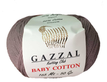 Gazzal baby cotton 3434 какао
