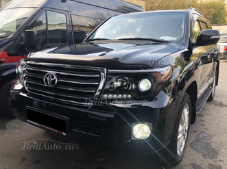 Рестайлинг Land Cruiser 200 из 2008 в 2015 Brownstone