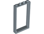 Door, Frame 1 x 4 x 6 with Two Holes on Top and Bottom, Sand Blue (60596 / 6138708 / 6337281)