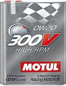 Motul 300v HIGH RPM 0w20 2Л