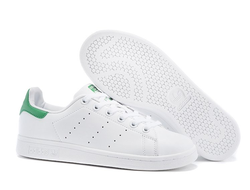 Adidas Stan Smith White/Green бело-зеленые