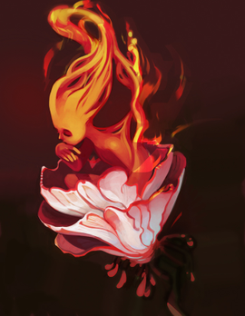 Fire Flower by CasCanete