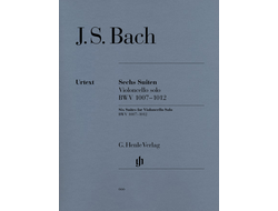 Bach Six Suites BWV 1007-1012 for Violoncello Solo