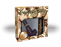Captain Gold gift set for men