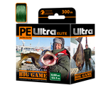 Плетёный шнур PE ULTRA ELITE BIG GAME Dark Green 0,60 мм 300 м