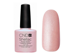 CND shellac grapefruit sparkle