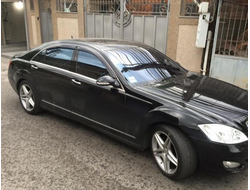 Mercedes Benz S-klasse (W221) Long 2005-2013 дефлекторы окон