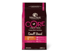 Сухой корм Wellness CORE Small Breed Original беззерновой для собак мелких пород, индейка, 1,5 кг