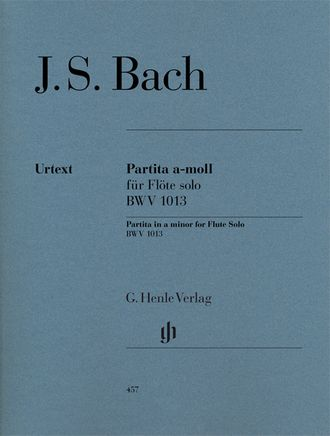 Bach: Partita a minor BWV 1013 for Flute solo