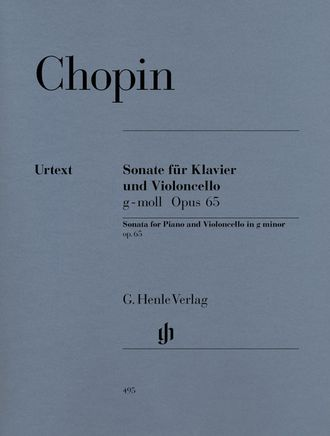 Chopin Violoncello Sonata g minor op. 65