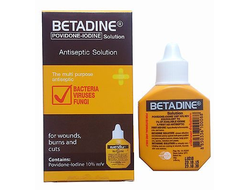 Тайский йод Betadine Antiseptic Solution  15 мл