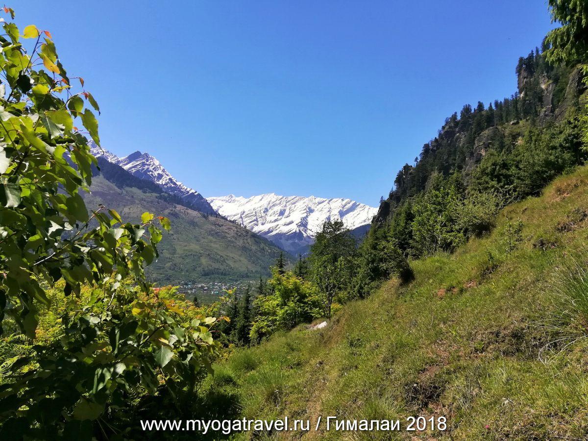 Манали, Водопады Йогини, медитация, йога-тур в Индию, myogatravel.ru