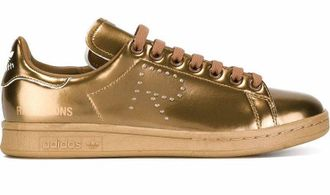 Adidas Raf Simons Stan Smith Золотые (36-40) Арт. 372M-A