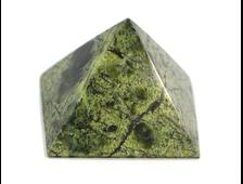 Пирамида Змеевик, Россия, Урал (33*32*25 мм, 25 г) №20668