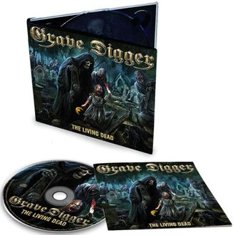 Grave Digger - The living dead CD Digi