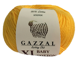 GAZZAL BABY COTTON XL 3417 желтый