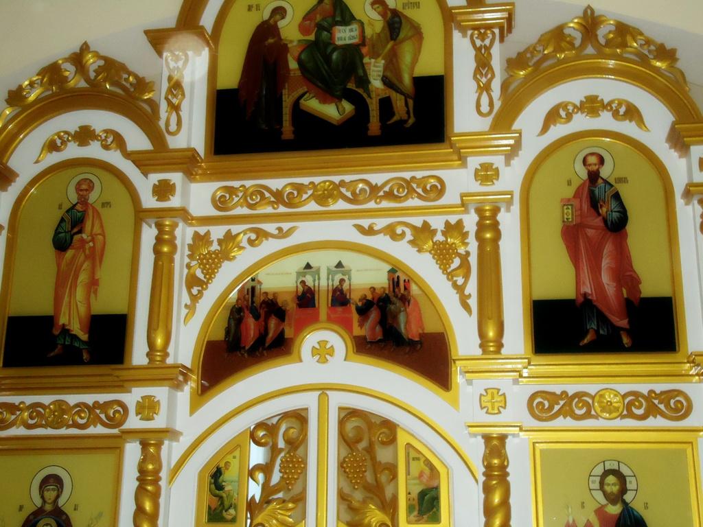 Создание иконостасов для приходов Беларуси