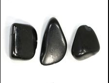 Шунгит, галтовка в ассортименте (35-40 мм, 10-14 г) №22855