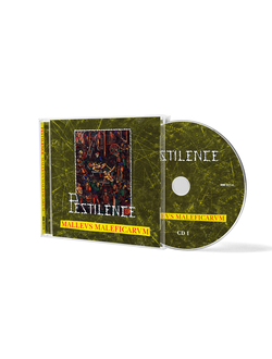 Pestilence - Malleus Malleficarum 2-CD слипкейс