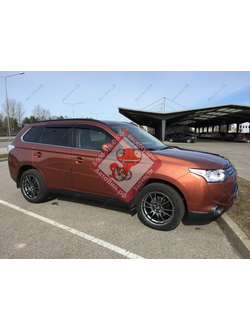 Дефлекторы окон VG Samurai для Mitsubishi Outlander New 2012-н.в. Код: VA068