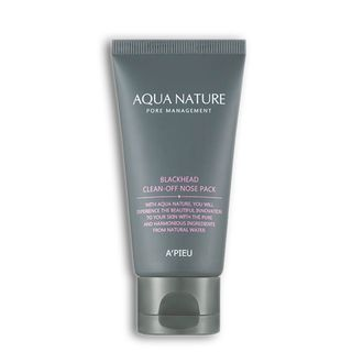 Маска-пленка A'PIEU Aqua Nature Blackhead Clean-Off Nose Pack