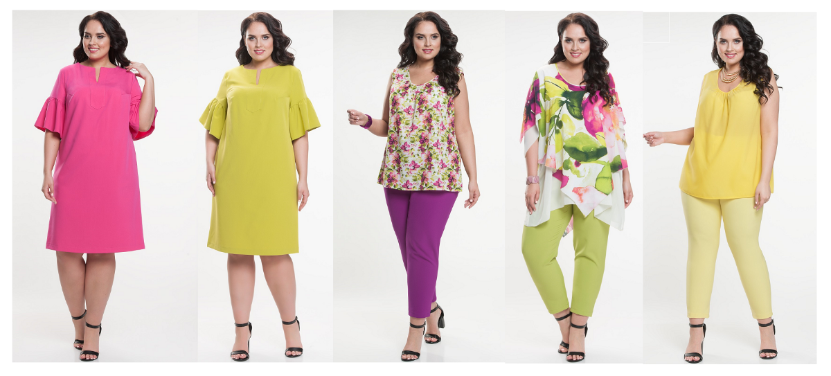 5751c2a80cc Интернет-магазин женской одежды больших размеров. Размерный ряд  48 ...