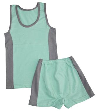 Комплект для мальчика (Артикул 136-022) цвет фисташковый
