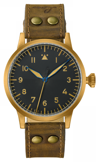 купить Часы мужские LACO ORIGINAL WESTERLAND BRONZE 45 MM HANDWINDING 862087