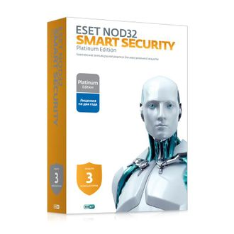 Eset Nod 32 Smart Security 3 компьютера на 2 года